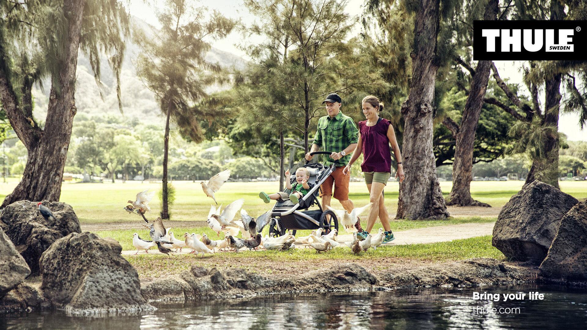 THULE Urban Glide Thule Blue Sport Stroller