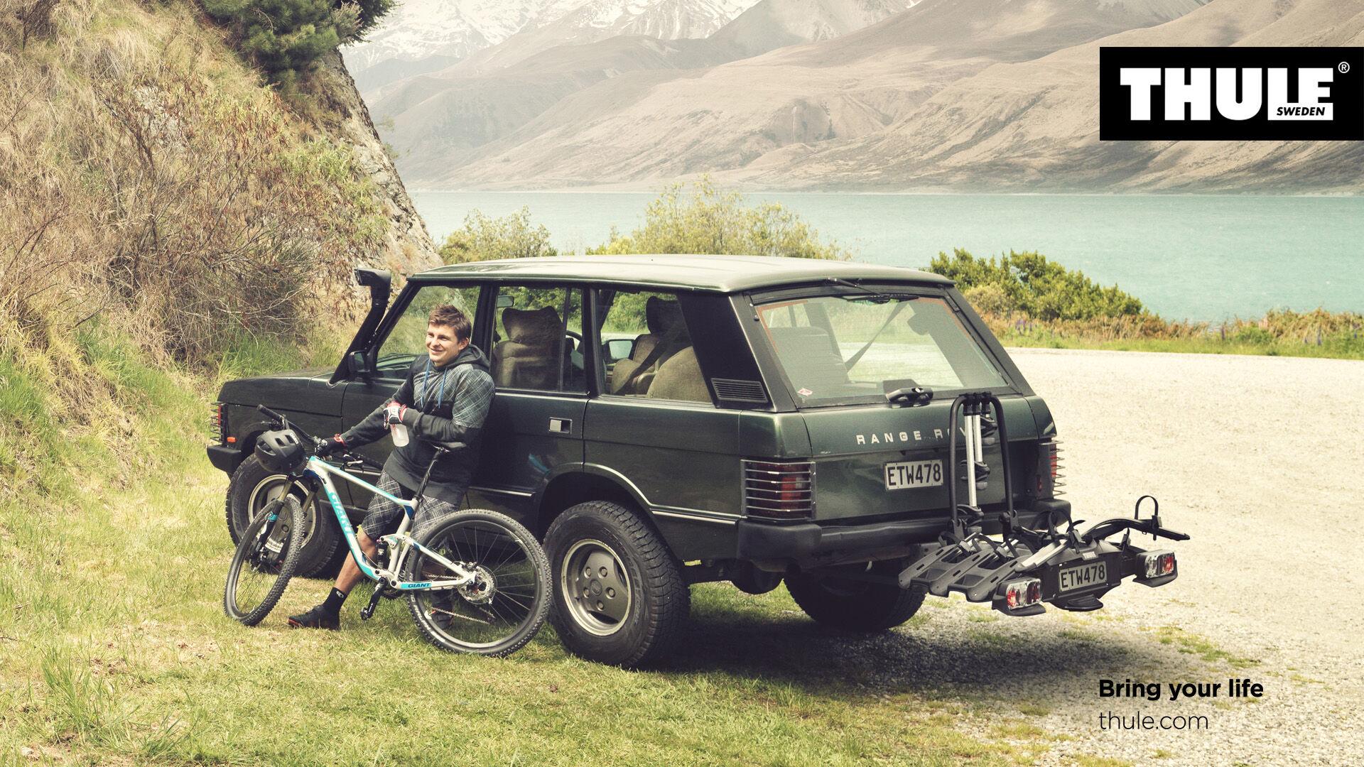 THULE VeloCompact 927 + 4. bike adapter 926-1