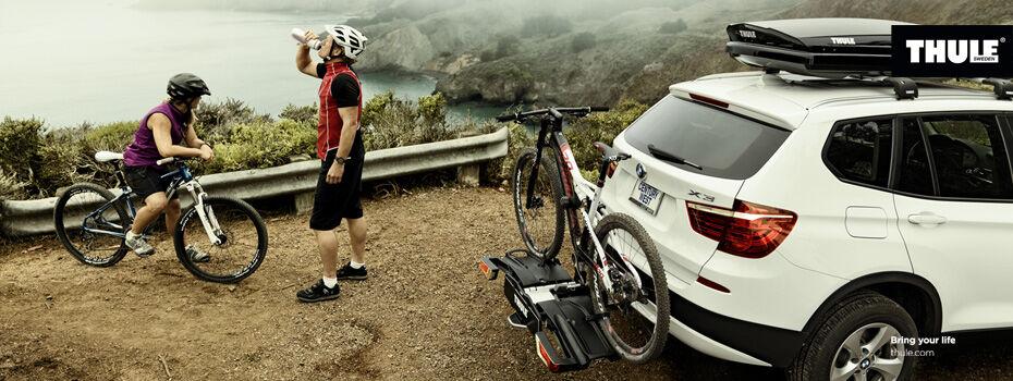 THULE EasyFold vonóhorogra szerelhető kerékpártartó