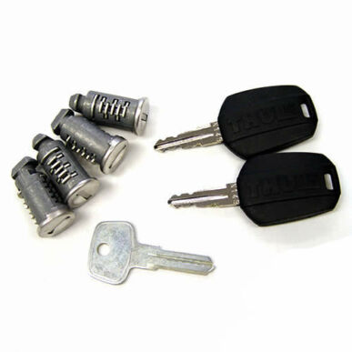 Thule 544 egykulcsos rendszer<br>4 db zár + 2 db kulcs