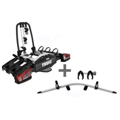 THULE VeloCompact 3 13pin + 4. ker. adapter csomag (926002+926101)
