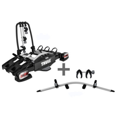 Thule VeloCompact 3 7pin + 4. ker. adapter csomag (927002+926101)