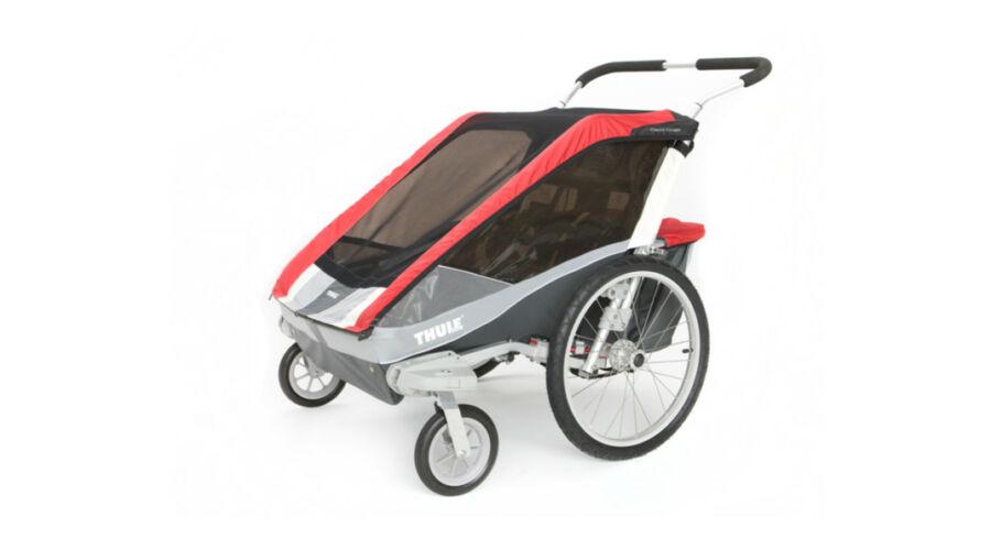 thule chariot cougar 2 piros ker kp ros kittel thule. Black Bedroom Furniture Sets. Home Design Ideas
